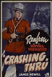 Crashing Thru Poster