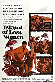 Island of Lost Women Poster