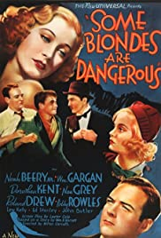 Some Blondes Are Dangerous Poster