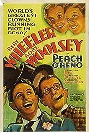 Peach-O-Reno Poster