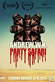 Andrew W.K. Party Safari Poster