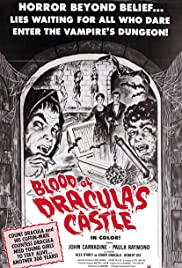 Blood of Dracula's Castle (1969) Poster - Movie Forum, Cast, Reviews