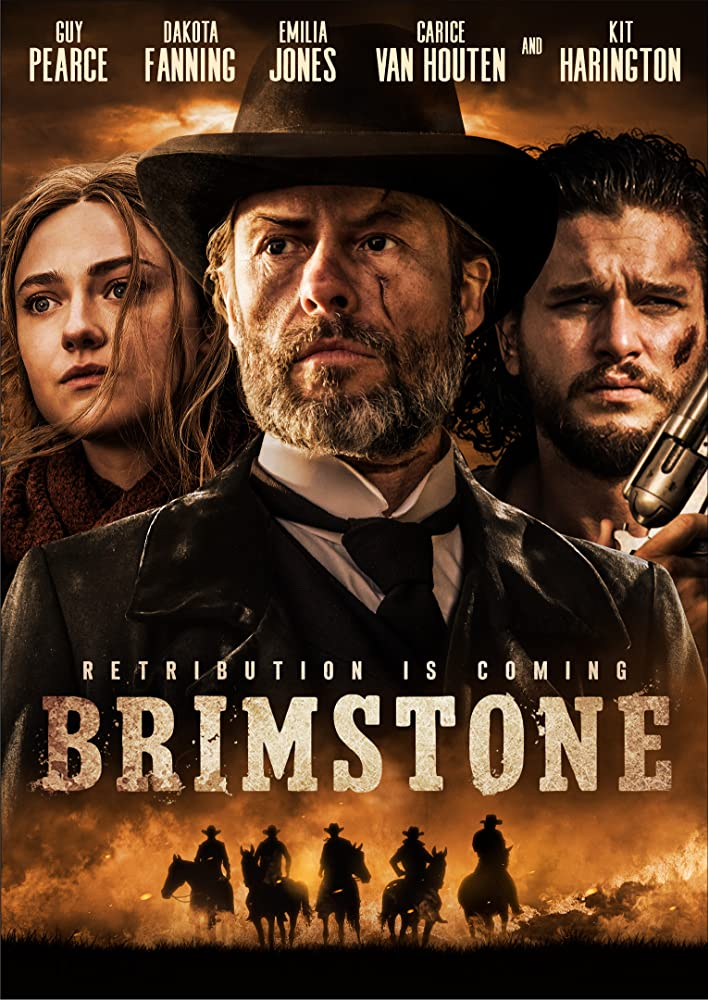 Brimstone poster do filme