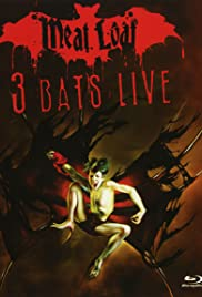 Meat Loaf: Three Bats Live Poster