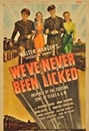 We've Never Been Licked (1943) Poster - Movie Forum, Cast, Reviews