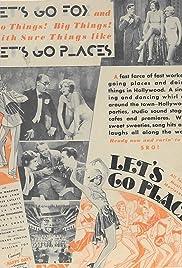 Let's Go Places Poster
