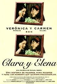 Clara y Elena Poster