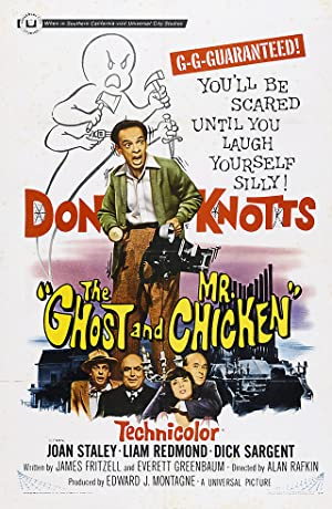 Poster The Ghost and Mr. Chicken