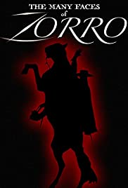 The Many Faces of Zorro Poster