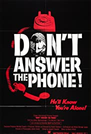 Don't Answer the Phone! (1980) Poster - Movie Forum, Cast, Reviews
