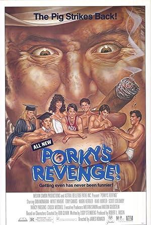 Porky's Revenge poster