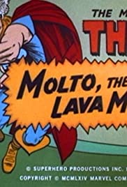 Molto, the Lava Man Poster