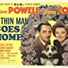 Myrna Loy, William Powell, and Asta in The Thin Man Goes Home (1945)