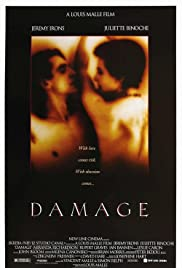 Damage (1992) Poster - Movie Forum, Cast, Reviews
