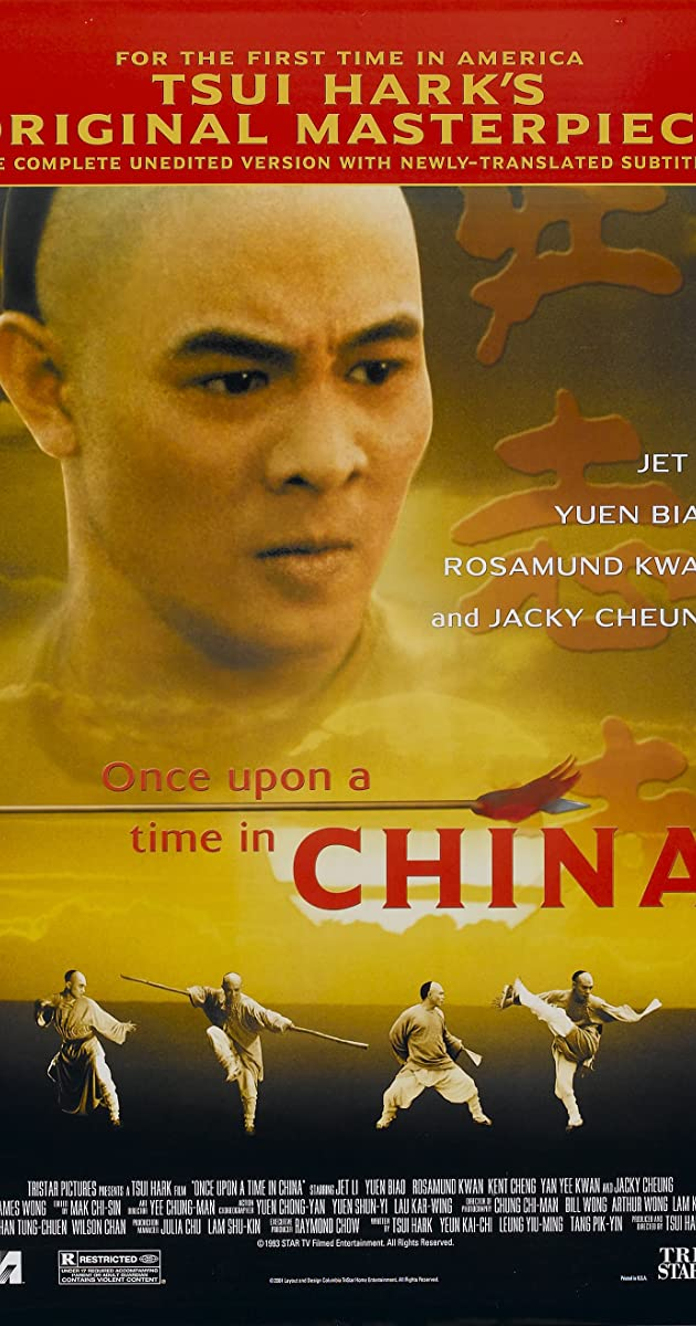 Once Upon a Time in China I 1991 BRRip