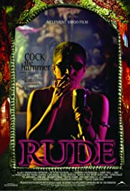 Rude (1995) Poster - Movie Forum, Cast, Reviews