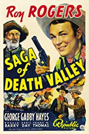Saga of Death Valley poster