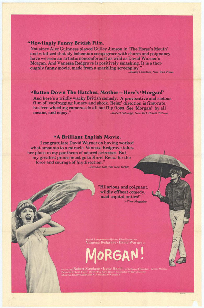 image Morgan: A Suitable Case for Treatment Watch Full Movie Free Online