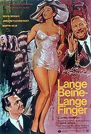 Lange Beine - lange Finger Poster