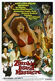 Zombie Island Massacre (1984) Poster - Movie Forum, Cast, Reviews