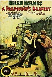 A Railroader's Bravery Poster