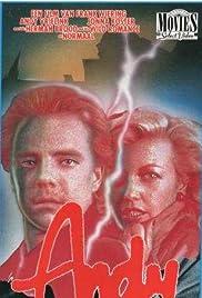Andy, bloed en blond haar Poster