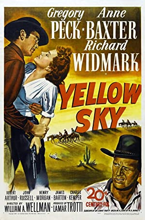 Yellow Sky poster