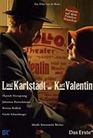 Liesl Karlstadt und Karl Valentin Poster