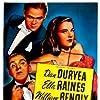 William Bendix, Dan Duryea, and Ella Raines in White Tie and Tails (1946)
