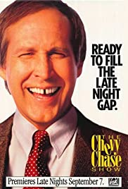 The Chevy Chase Show Poster