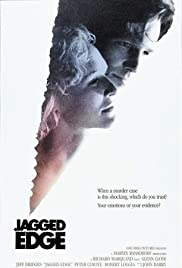Jagged Edge(1985) Poster - Movie Forum, Cast, Reviews