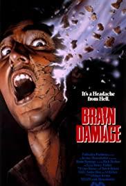 Brain Damage (1988) Poster - Movie Forum, Cast, Reviews