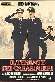 Il tenente dei carabinieri Poster