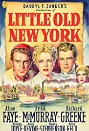Little Old New York(1940) Poster - Movie Forum, Cast, Reviews