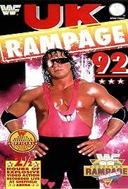 WWF: European Rampage 92 Poster