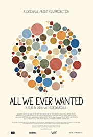 All we ever wanted Poster