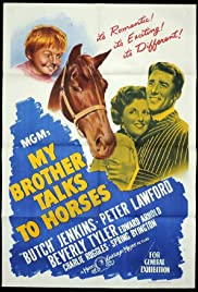 My Brother Talks to Horses Poster