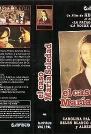 El caso María Soledad Poster