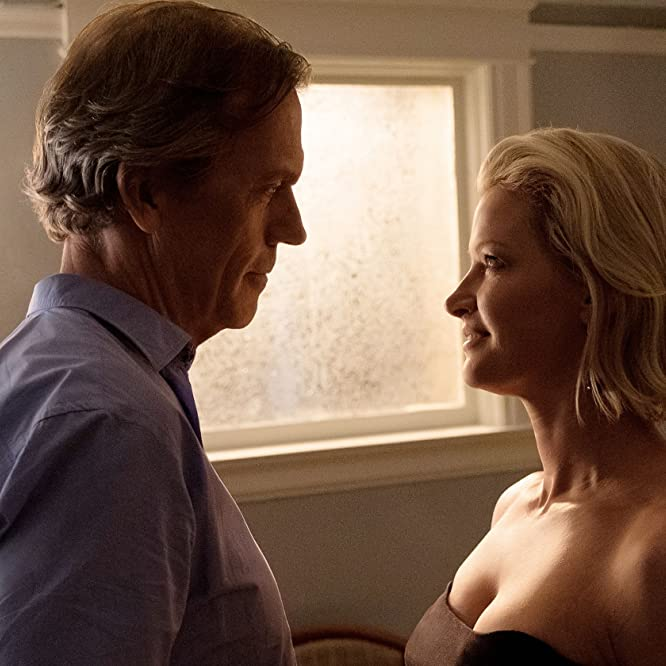 Gretchen Mol and Hugh Laurie in Chance (2016)