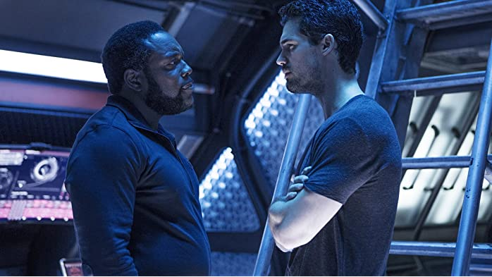 Chad L. Coleman and Steven Strait in The Expanse (2015)