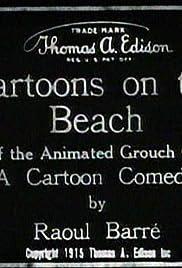 Cartoons on the Beach Poster
