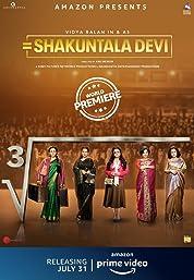 Shakuntala Devi (2020) poster