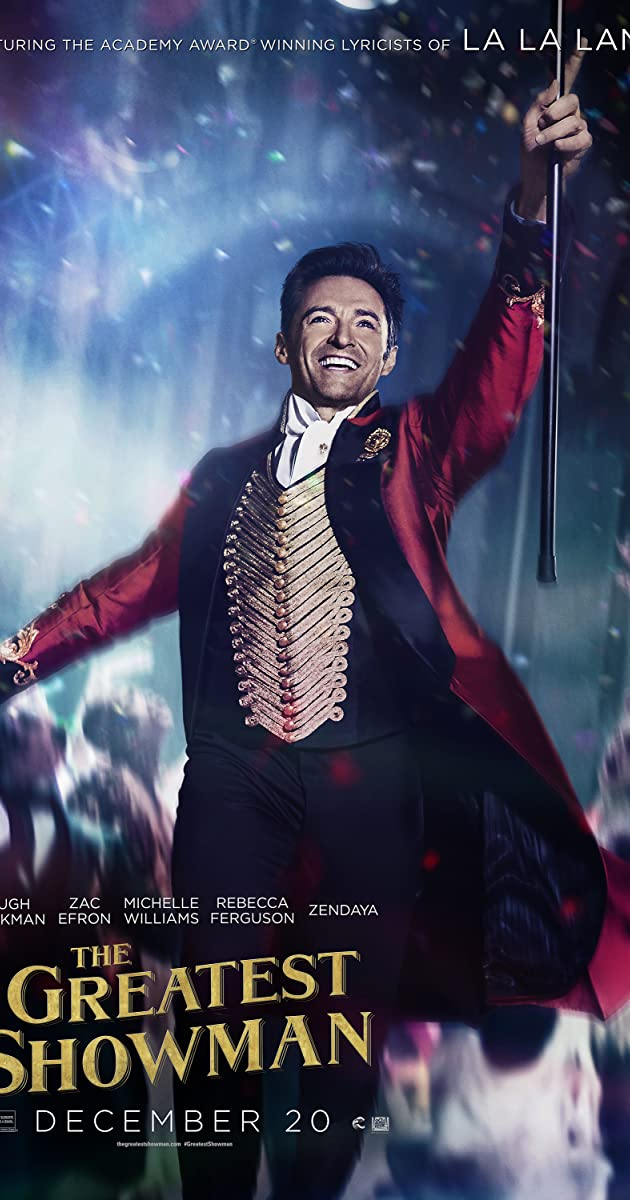 Didysis šou meistras / The Greatest Showman (2017) online