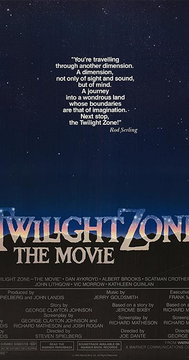 Twilight Zone The Movie 1983  IMDb