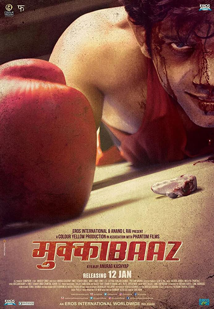 Mukkabaaz (2017) Hindi HDTVRip x264 800MB Full Movie