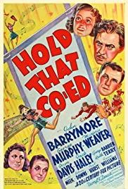Hold That Co-ed (1938) Poster - Movie Forum, Cast, Reviews