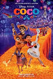 Coco (2017) BluRay 720p 580MB Dual Audio [Hindi – English] ESubs MKV