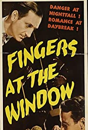 Fingers at the Window Poster