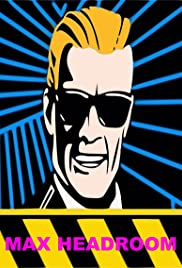 The Max Headroom Show Poster
