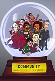 Community: Miracle on Jeff's Street Poster